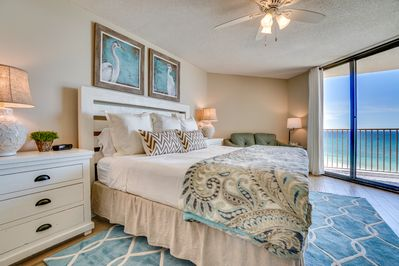 Master Bedroom - Wake up to this view of the Gulf each morning...