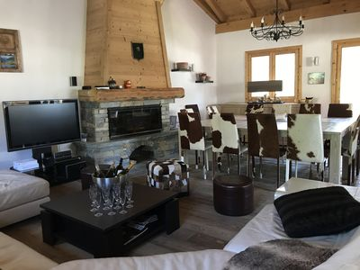 Photo for Beautiful luxury chalet for families or groups. Well-being