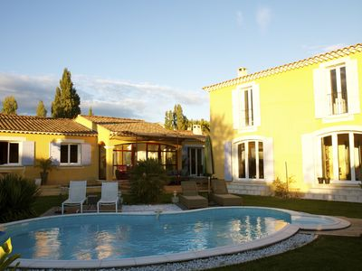 Photo for Provencal house at the foot of Mont Ventoux, ideal for cyclists