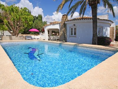 Photo for Vacation house with private pool for 6+1 persons.