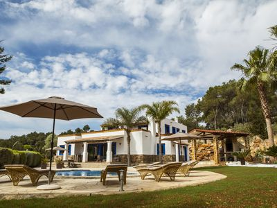 Photo for Fabulous 5 bedroom villa surrounded by nature in Santa Eulalia