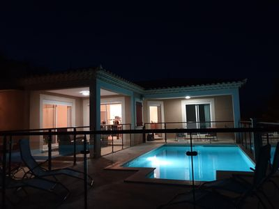 Photo for Modern villa 123 m² with private pool 8/10 people.