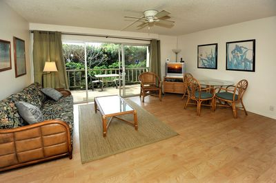 Condo 4 Living Room ~ Kihei Kai Maui Vacation Rental
