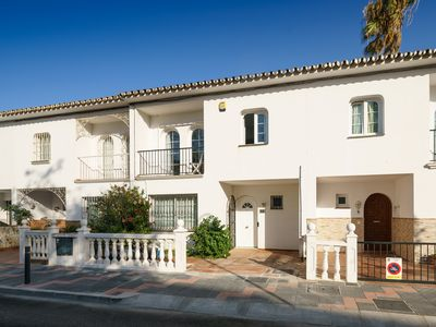 Photo for Lovely Townhouse just 50m to the Beach.  3 beds, 2 bathrooms, Village Location