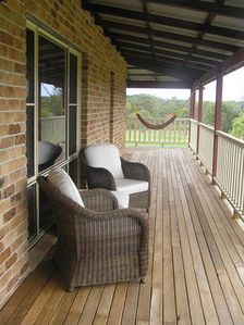 Relax on the wraparound verandah in all seasons