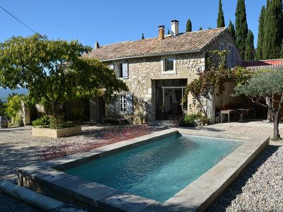 Photo for Charming farmhouse for rent Drome Provençale in immersion in nature