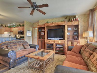 Photo for 3 BD/ 3 BA Ski in Ski out Riverside building at Zephyr Mountain Lodge. VIEWS!