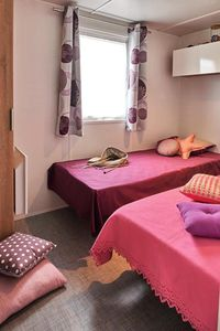 Photo for Camping Landes Bleues **** - 5-room Comfort mobile home 8 people
