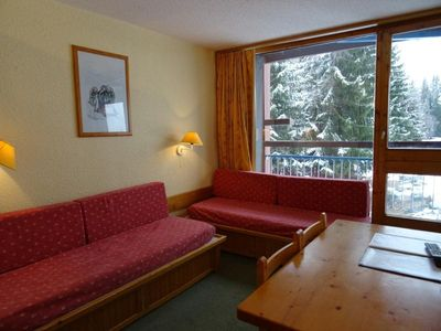 Photo for Apartment Les Arcs 1800, studio flat, 4 persons