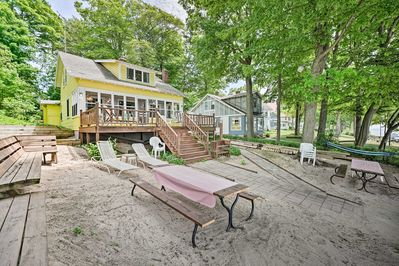 A rejuvenating lakefront retreat awaits you at this Holland vacation rental!