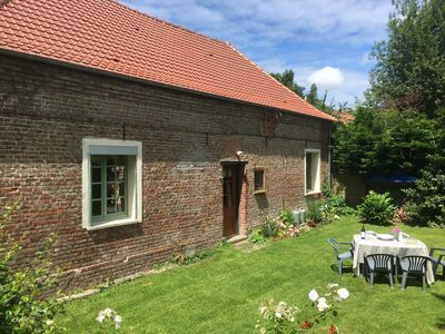 Photo for Holiday Cottage - Beautiful Beamed Stable with Log Fire in Labroye Pas de Calais
