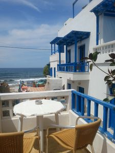 Photo for Nice and cozy, sea view from private balcony
