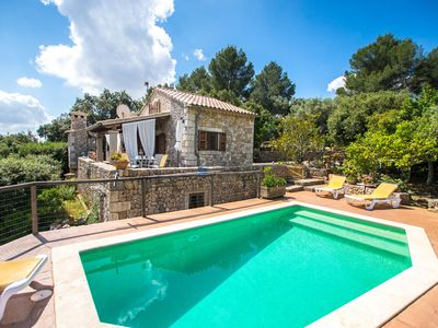 Photo for Cosy holiday home with private swimming pool and beautiful view