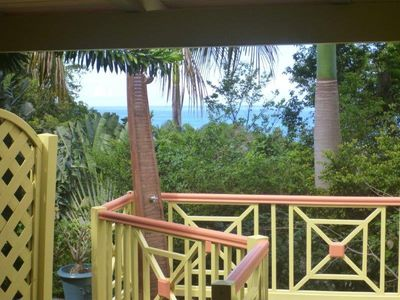 Photo for Green House, following a rental Deshaies Guadeloupe