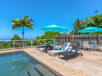 Ocean Views * Minutes to Dolphins * Private Heated Pool & Hot Tub