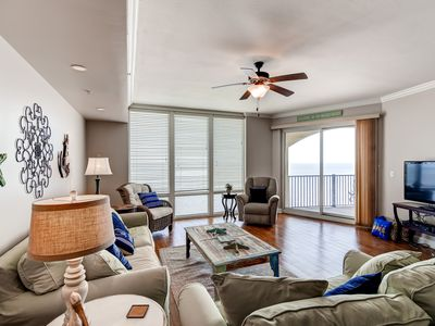 Photo for Sleek 3BR Gulfport Condo w/Ocean Views!