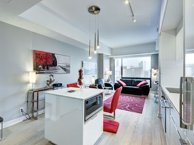 Photo for Downtown YUL -Prestige Brand New Condo fully furnished and equipped @ Bell Centre