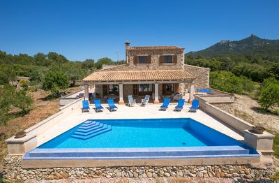 Photo for Felanitx Villa, Sleeps 8 with Pool, Air Con and WiFi