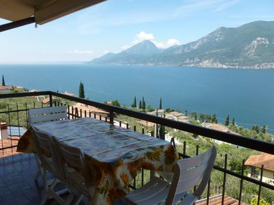 Photo for Boccino apartment - spectacular lake view