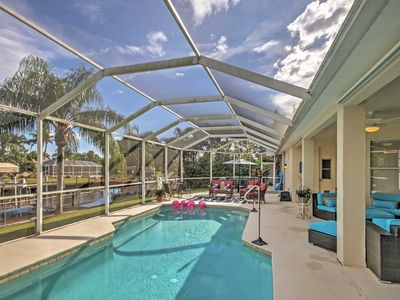 Photo for 4BR Cape Coral House w/ Private Pool & Pier!