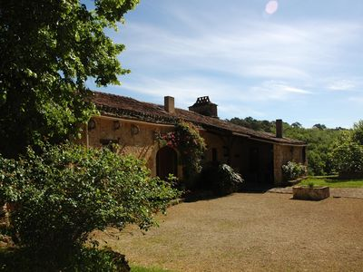 Photo for Cottage 3 stars in Perigord,nearby bonaguil castle