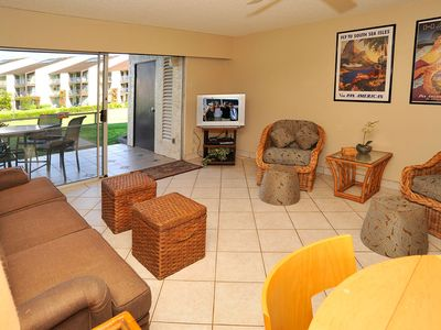 Photo for #163 Ground floor condo, easy access to best beach on Maui!