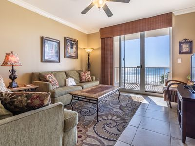 Photo for PERFECT FOR FAMILIES! this unit offers FREE BEACH SERVICE & THE BEST VIEWS!!
