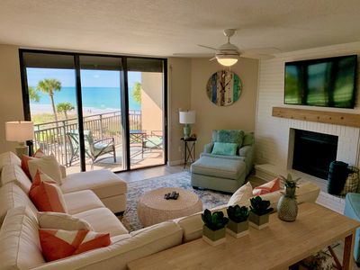 Photo for Breathtaking sunsets and sunrises at Driftwood Sands beachfront condo.
