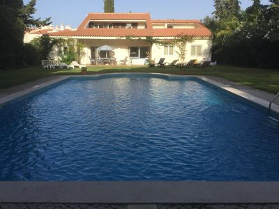 Photo for Vale do lobo spacious villa very large pool great for golf