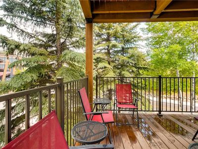 Photo for Beautiful Mountain Condo for Summer Getaway, Prime Location, Hot Tub & Amazing Views!