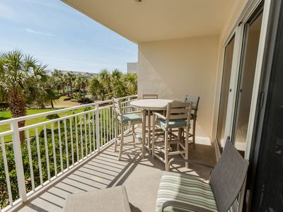 Photo for Marvelous waterfront home w/private balcony, shared pool & fitness center!