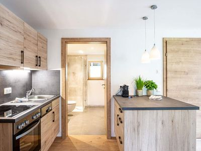 """Photo for Apartment """"3"""" - 2 bedrooms / 1 kitchen - Haus Tannberg - Family Fink"""