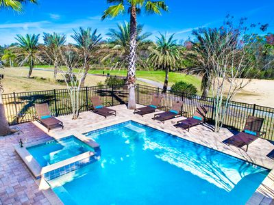Photo for Modern Private Pool Home with Amazing Golf View. 733