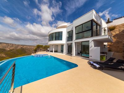 Photo for Villa Priscilla a luxury, modern getaway in Javea. Very close to Granadella.