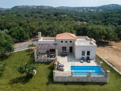 Photo for 3 bedroom Villa, sleeps 7 in Atsipopoulo with Pool, Air Con and WiFi