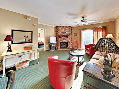 Photo for Walk to Tram! Prime Downtown Locale w/ Pool, Hot Tub & 2 Private Balconies