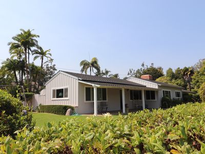 Photo for Montecito Beach House Steps from Butterfly Beach / Four Seasons Biltmore!