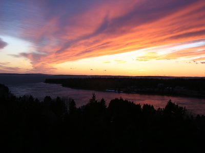 Photo for Come and enjoy amazing sunsets at Duck Cove Overlook