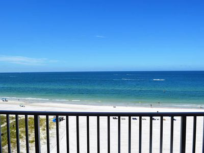 Photo for SUNSETS ON SALE! ! BOOK BEFORE ITS TOO LATE ~ GORGEOUS DIRECT GULF VIEWS~ WALK TO EVERYTHING! SEA BREEZE OF MADEIRA BEACH! SLEEPS 6