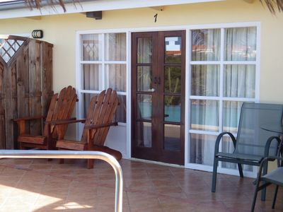 Photo for 1BR Apartment Vacation Rental in Orangestad, Nood