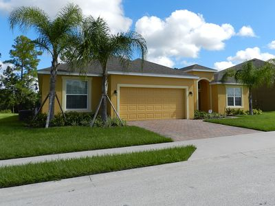 Photo for Luxury on a budget - Watersong - Welcome To Relaxing 5 Beds 4 Baths Villa - 9 Miles To Disney