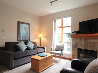 Photo for Northstar #137  Family-Friendly 2-Bedroom Condo with Kitchen and Fireplace