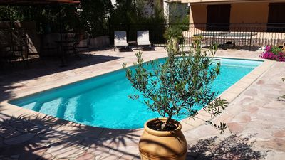 Photo for Ground villa 6 people, forest and swimming pool in La Seyne sur Mer (Var)