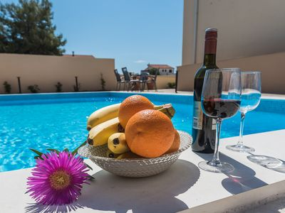 Photo for En-Suite Apartment With Pool and Sea View A4 - Adriatic Luxury Villas