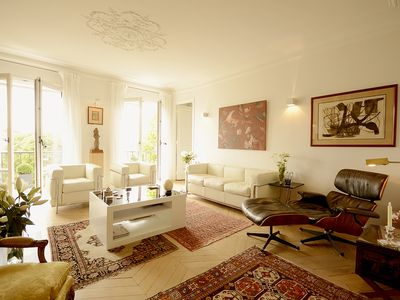 Photo for Spacious 2 BR Near Eiffel Tower and St Germain
