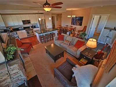 Photo for Fabulous ski-in/ski-out condo with luxury furnishings, telescope, and indoor parking