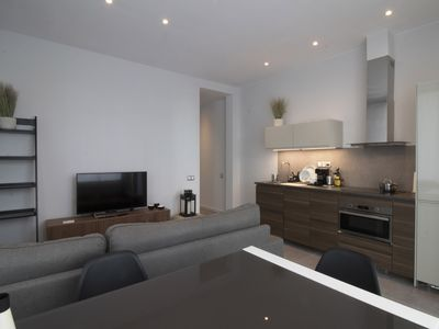 Photo for Design Apartment with big Terrace and A/C in the wealthiest Neighborhod