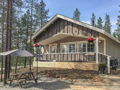 Photo for Vacation home Haukka in Inari - 5 persons, 2 bedrooms
