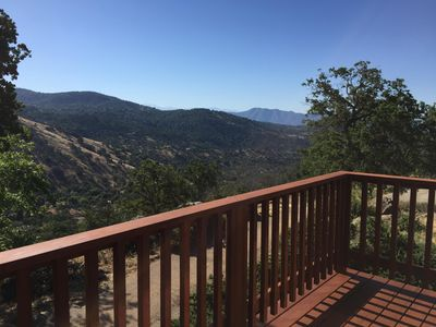 View off of the master bedroom deck