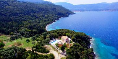 Photo for Secluded villa with breathtaking views